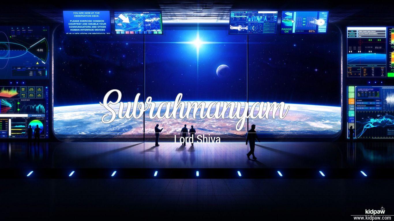Subrahmanyam beautiful wallper