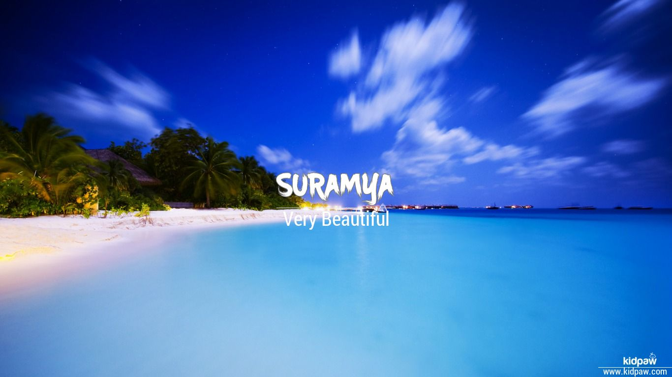 Suramya beautiful wallper