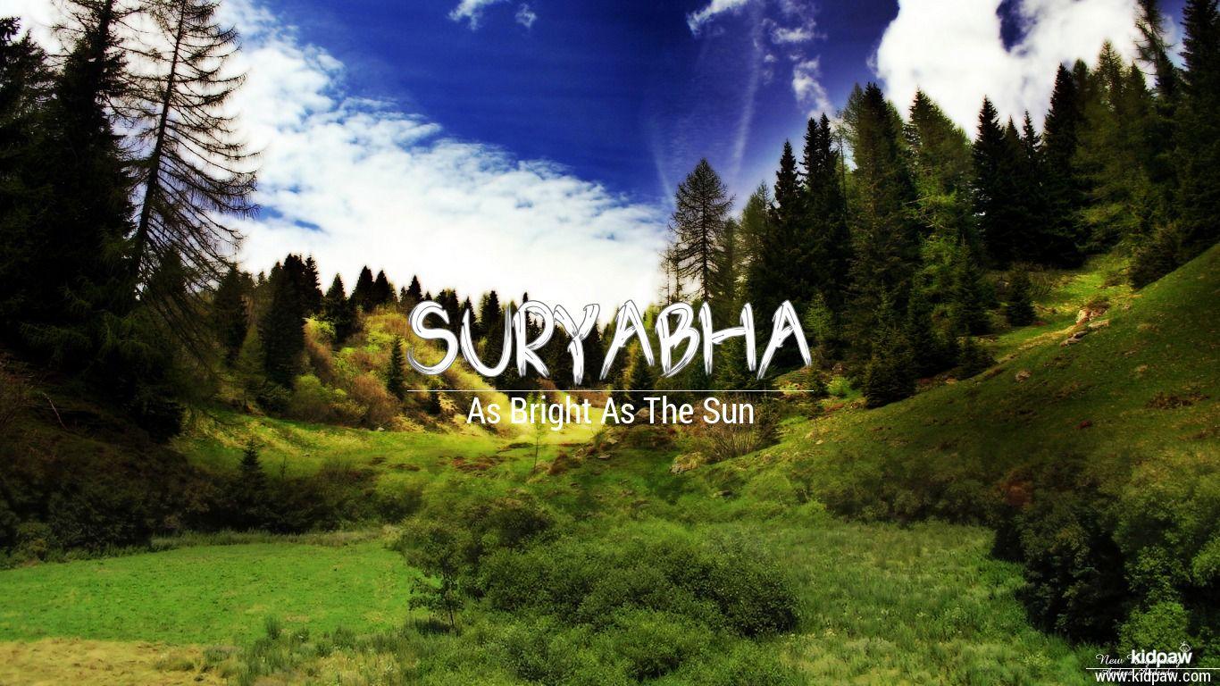 Suryabha beautiful wallper