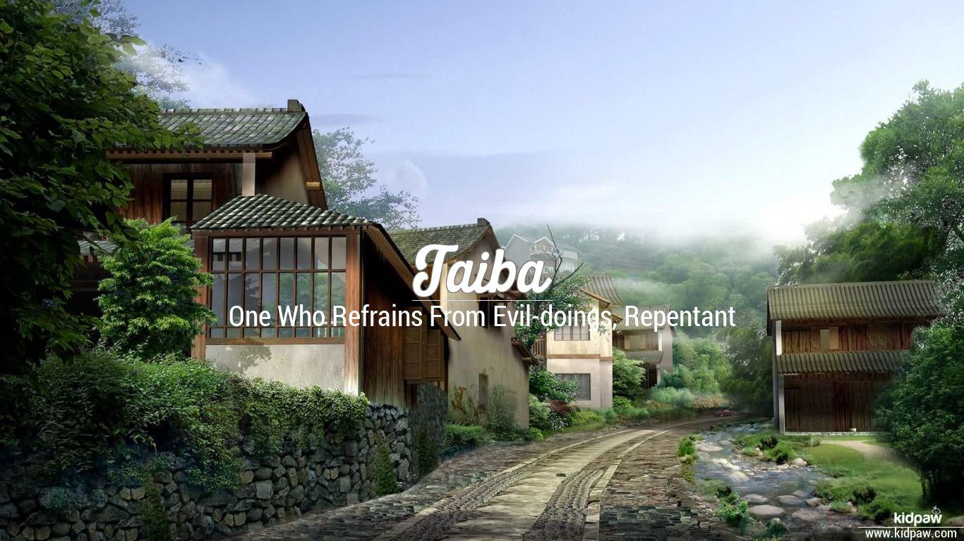 Taiba beautiful wallper