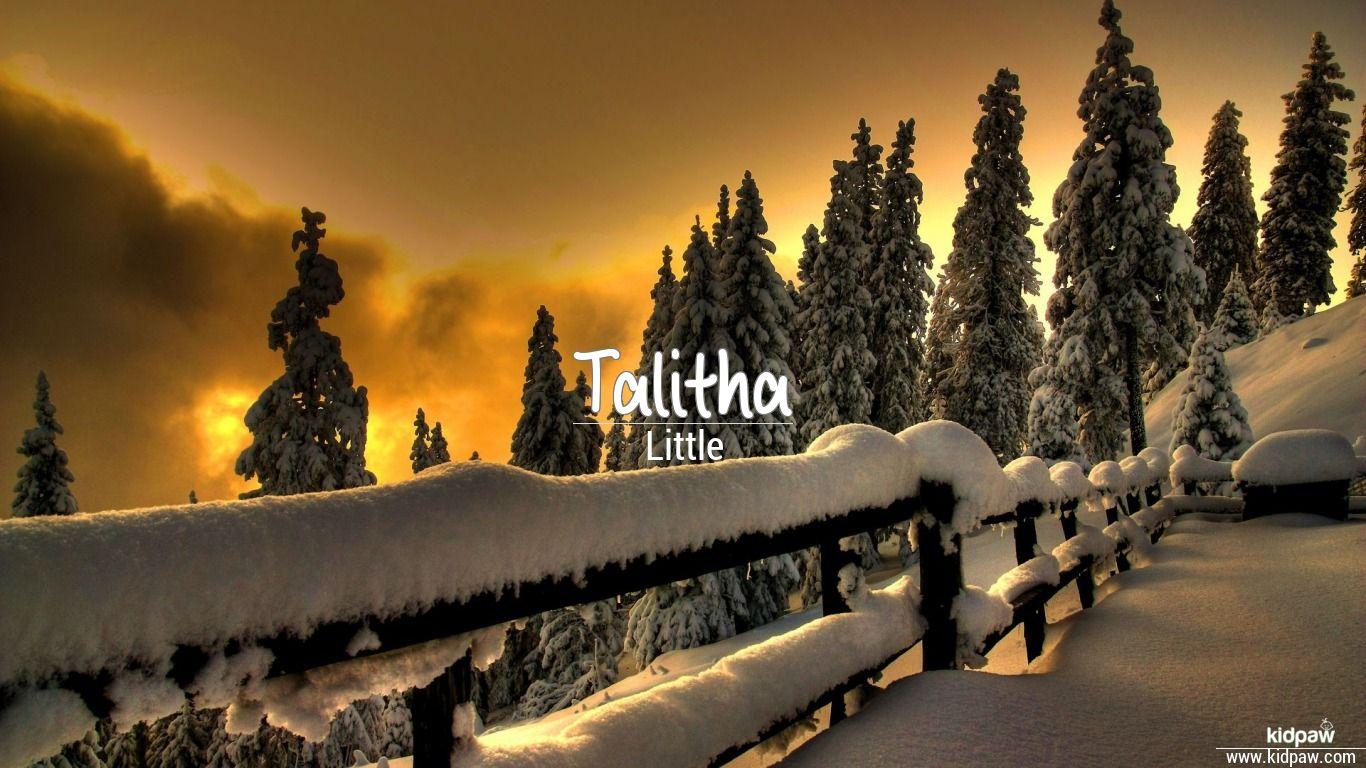 Talitha beautiful wallper