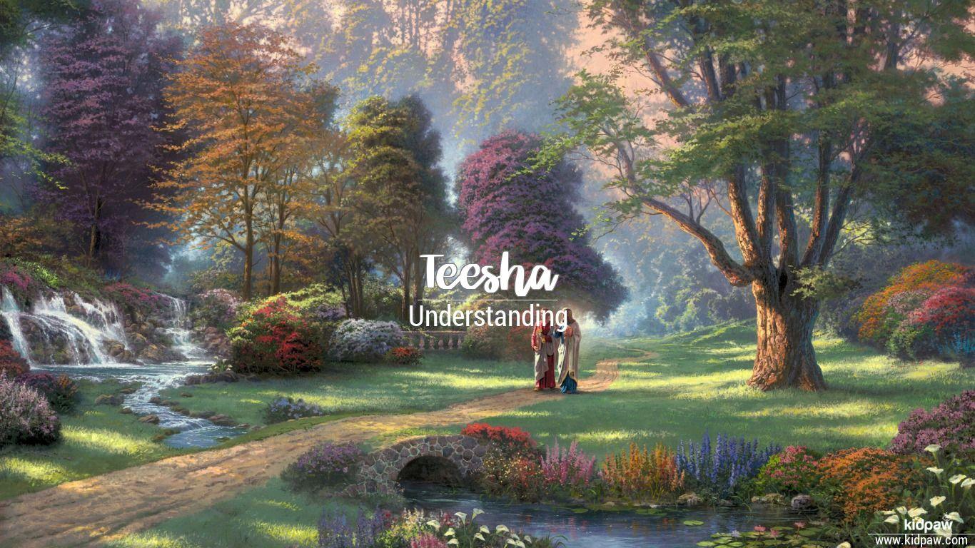 Teesha beautiful wallper