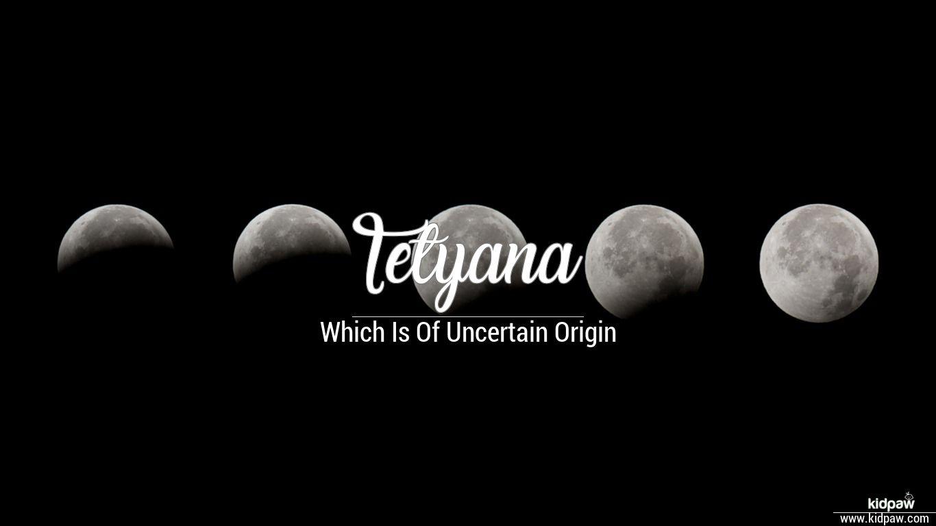 Tetyana beautiful wallper