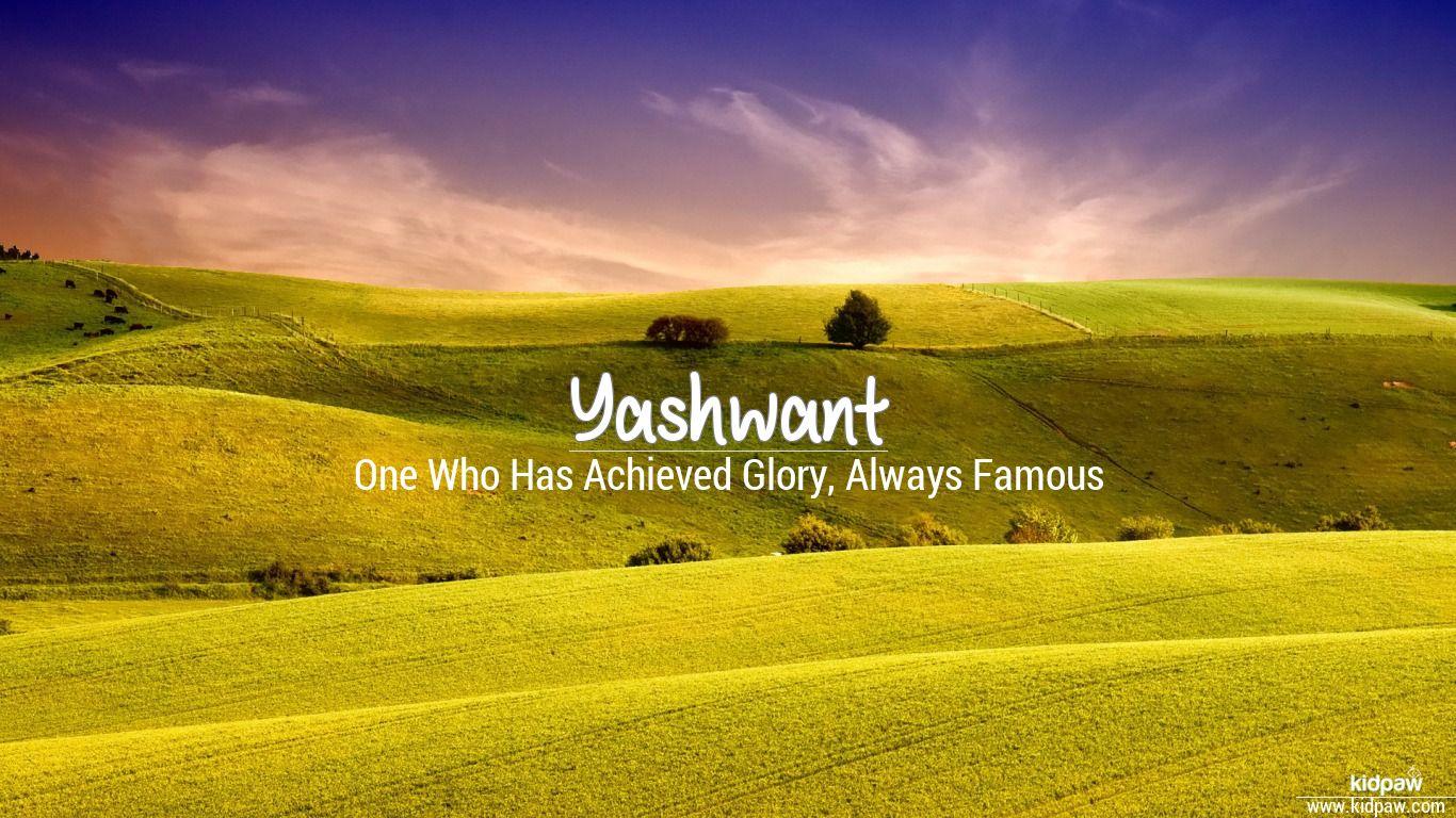 yashwant 3d name