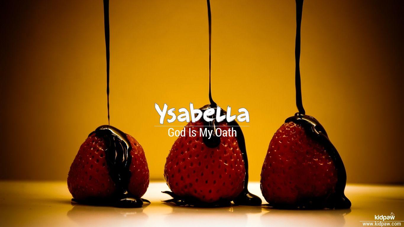 Ysabella beautiful wallper