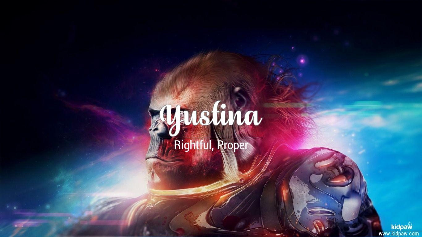 Yustina beautiful wallper