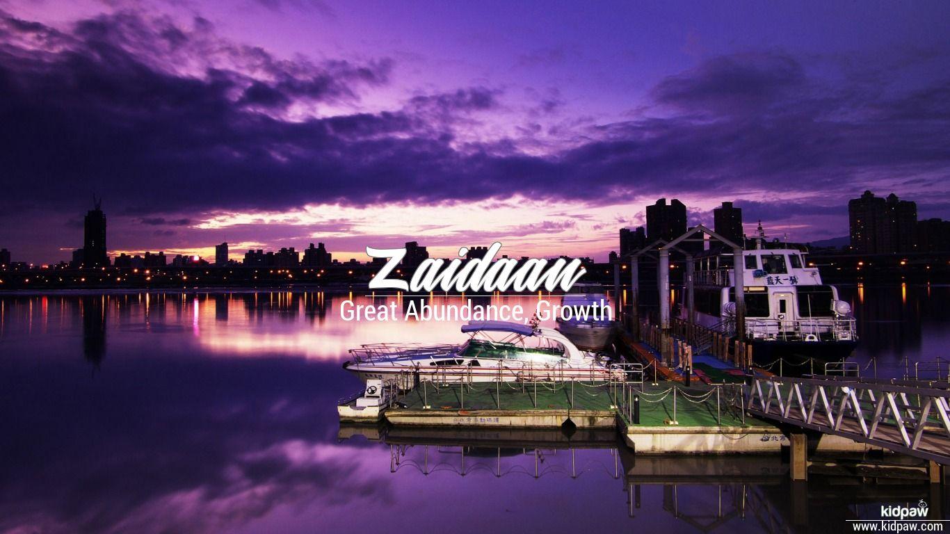 Zaidaan beautiful wallper